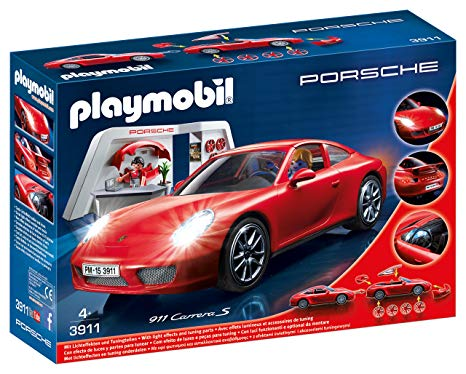 porsche playmobil rouge