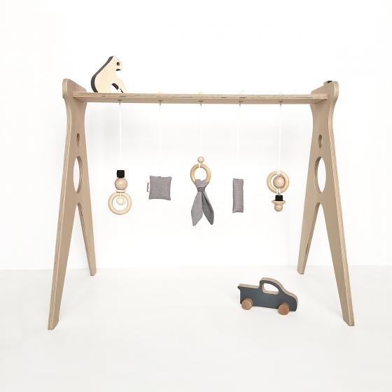 portique d éveil en bois