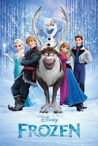 poster de la reine des neiges