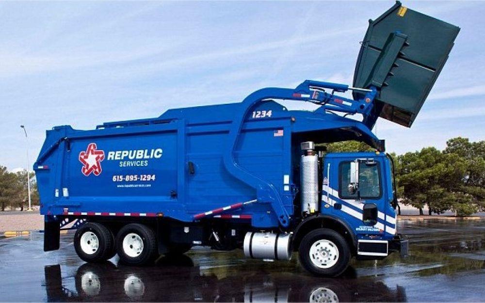 poubelle camion
