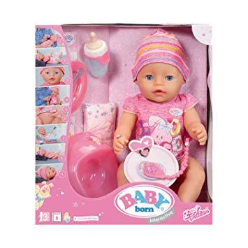 poupon interactif baby born