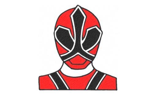 power ranger samurai rouge