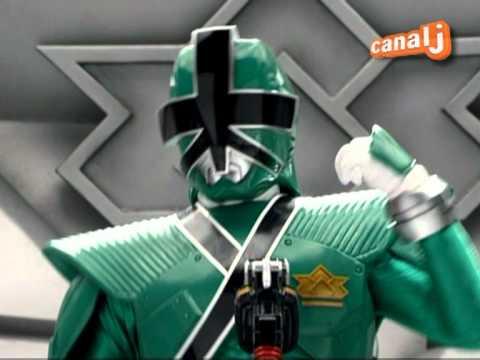 power ranger samurai vert
