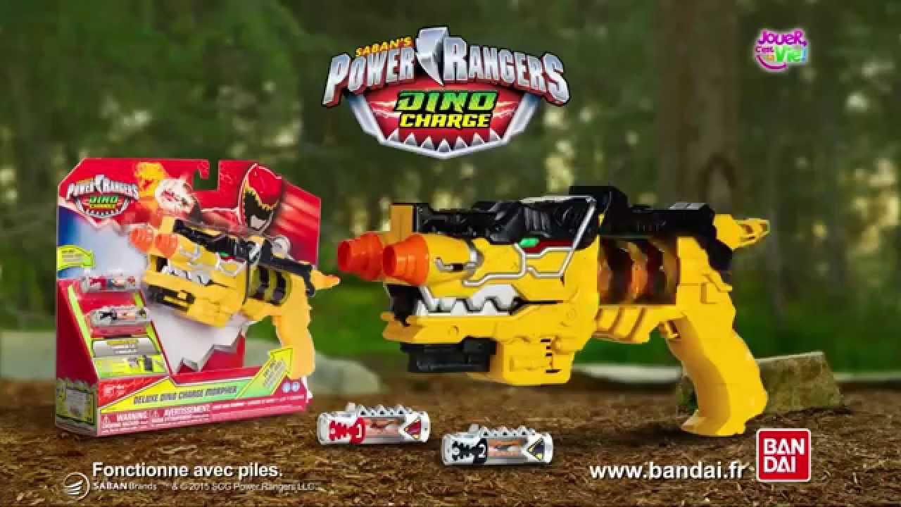 power rangers pistolet dino charge