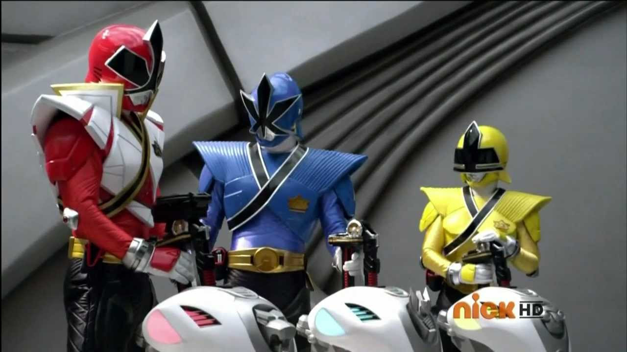 power rangers samurai transformation