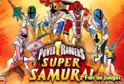 power rangers super samurai jeux