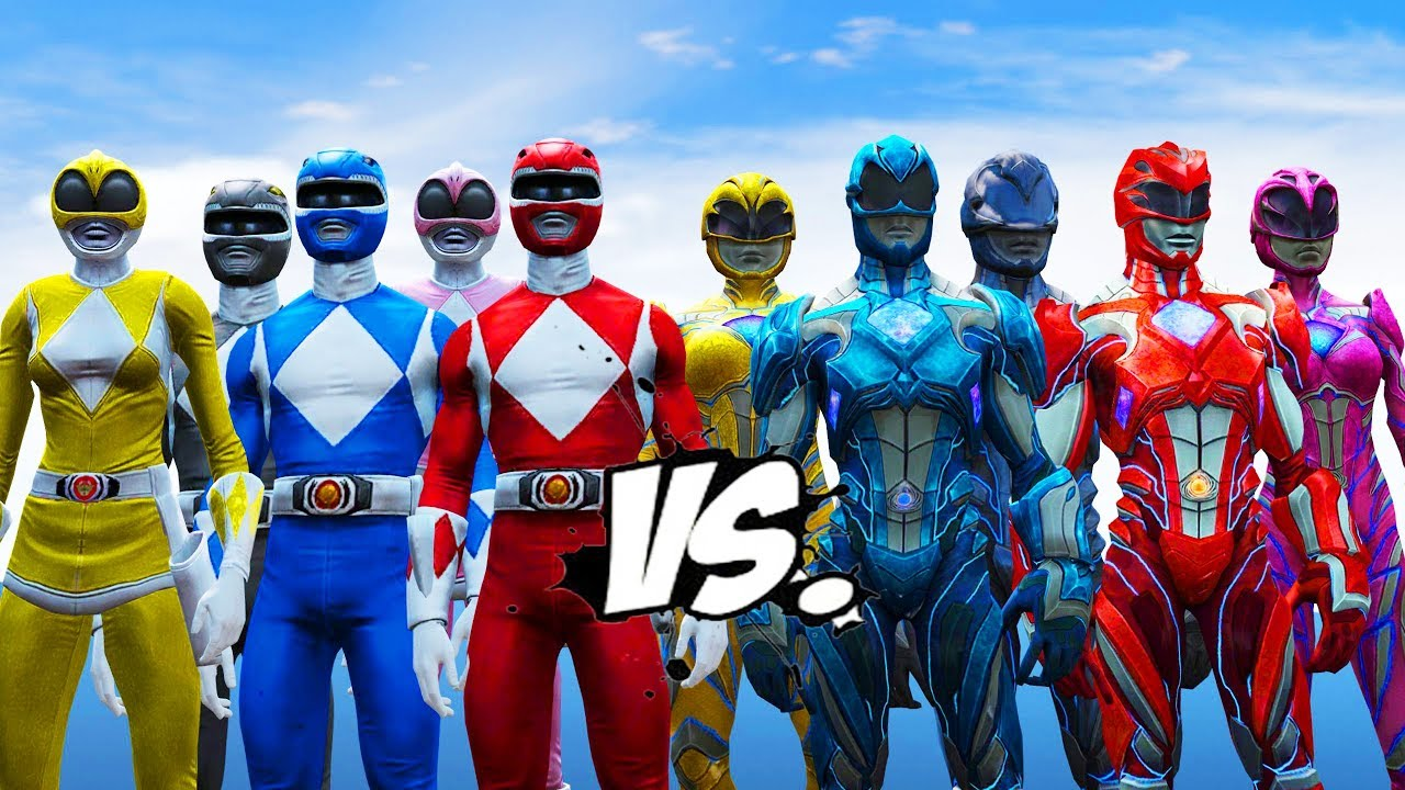 power rangers vs power rangers