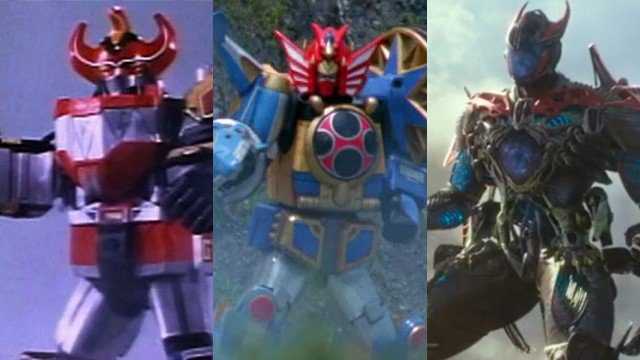 power rangers zords