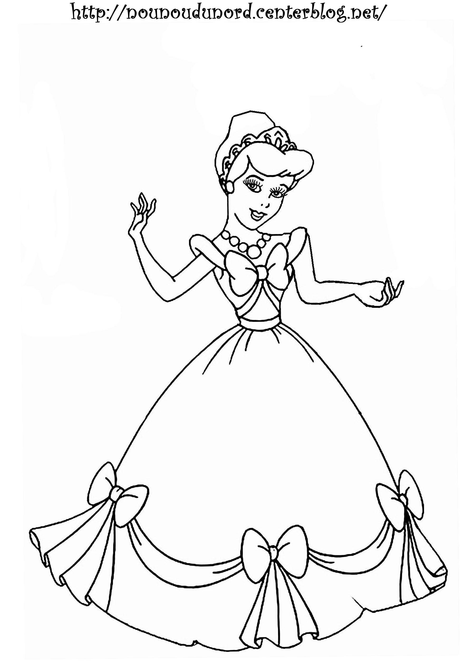 princesse a dessiner