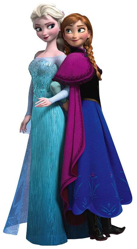 princesse elsa et anna