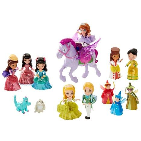 princesse sofia personnages