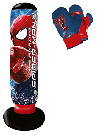 punching ball spiderman