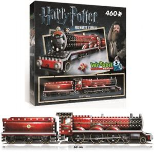 puzzle 3d harry potter train