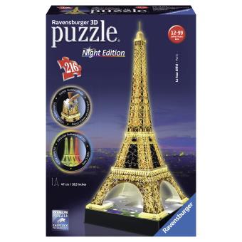puzzle 3d lumineux tour eiffel