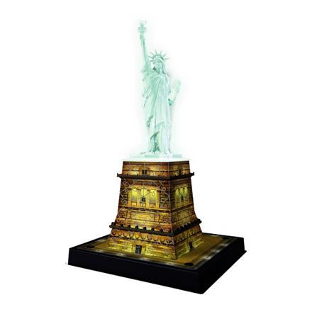 puzzle 3d statue de la liberté lumineux