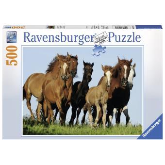puzzle chevaux ravensburger