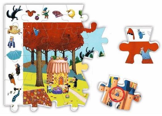 puzzle combien de pieces pour quel age