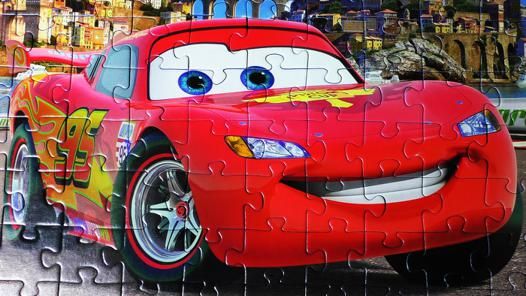 puzzle de cars