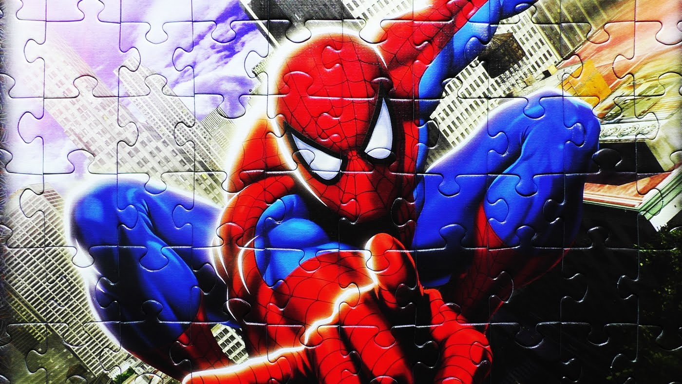 puzzle de spiderman