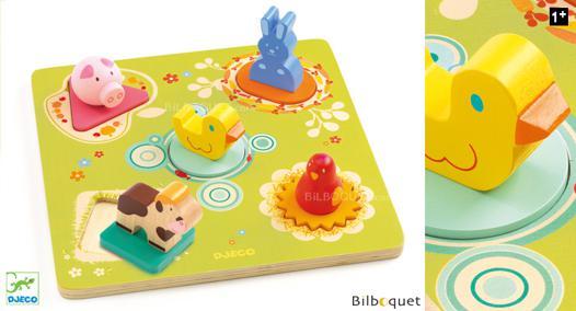 puzzle en bois 1er age