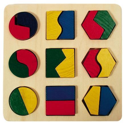 puzzle forme géométrique