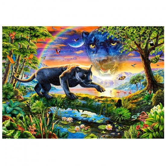 puzzle panthère noire
