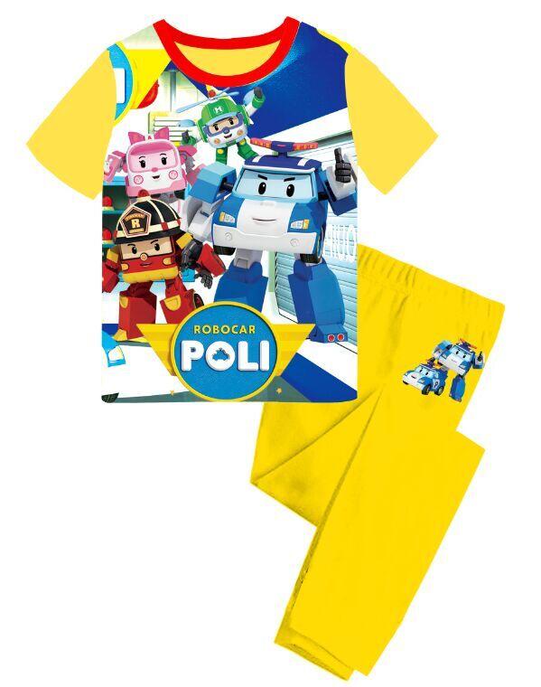 pyjama robocar poli