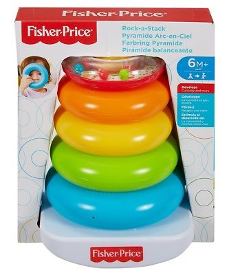 pyramide arc en ciel fisher price