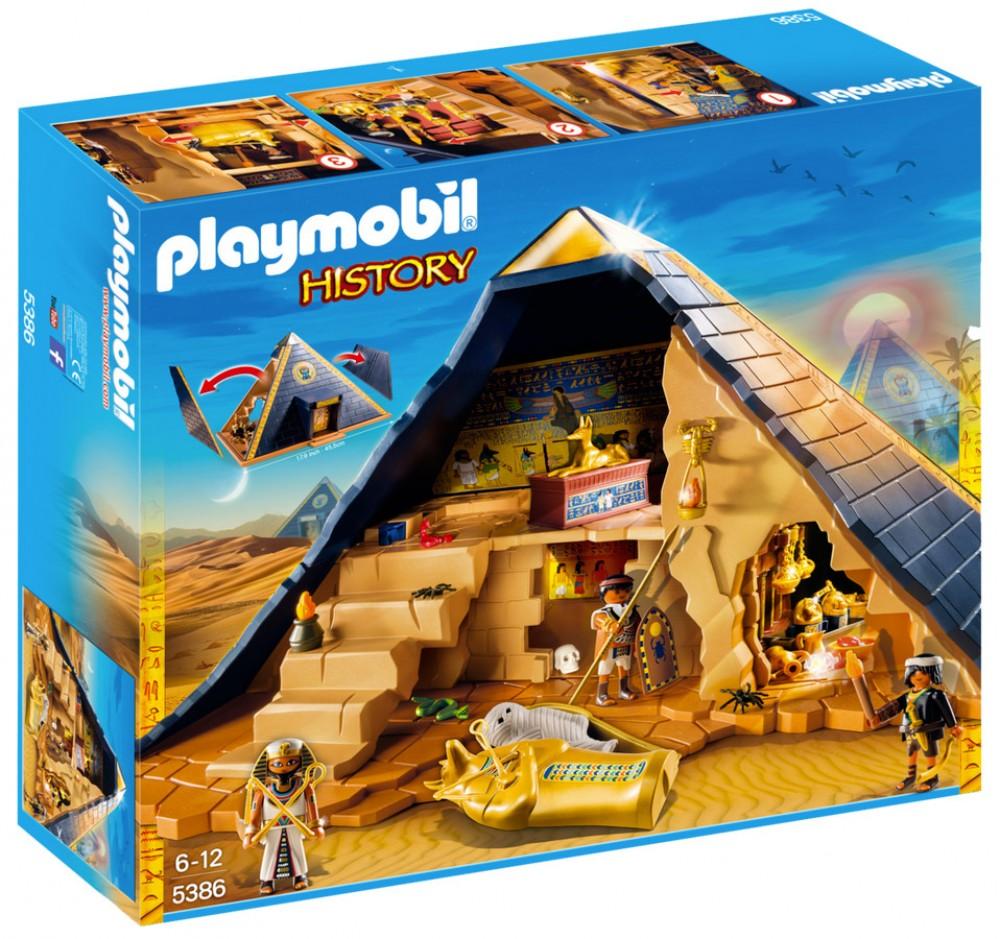 pyramide du pharaon playmobil
