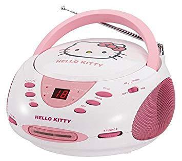 radio cd hello kitty