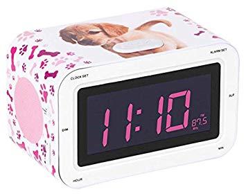 radio réveil pour fille