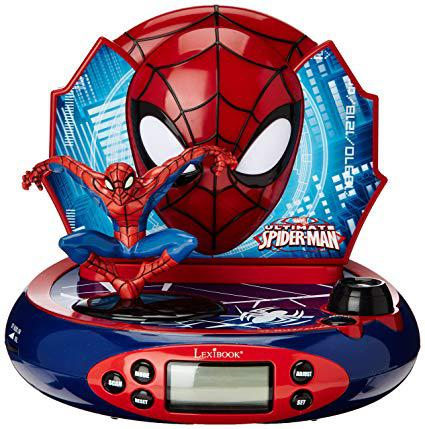 radio reveil spiderman