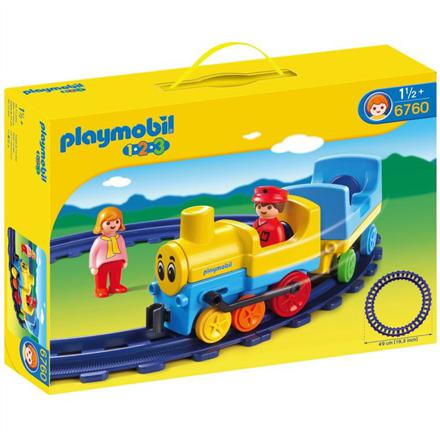 rail train playmobil