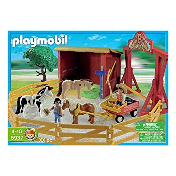ranch poney playmobil