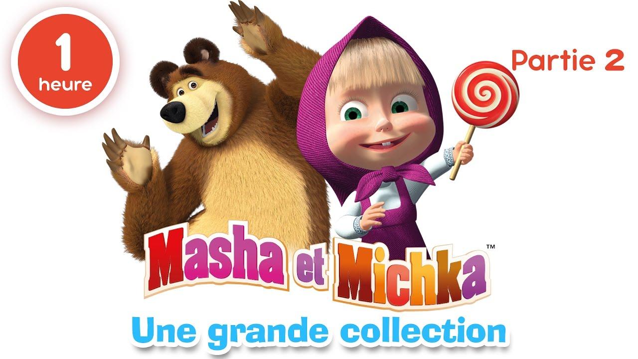 regarder masha et michka