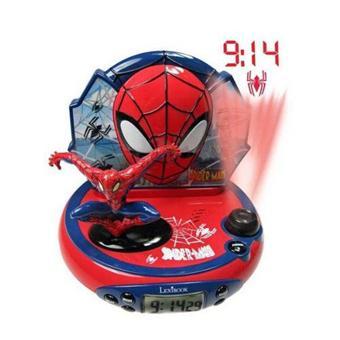 reveil spiderman lexibook