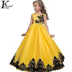 robe de princesse pour fille de 10 ans