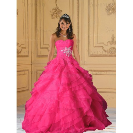 robe de princesse rose
