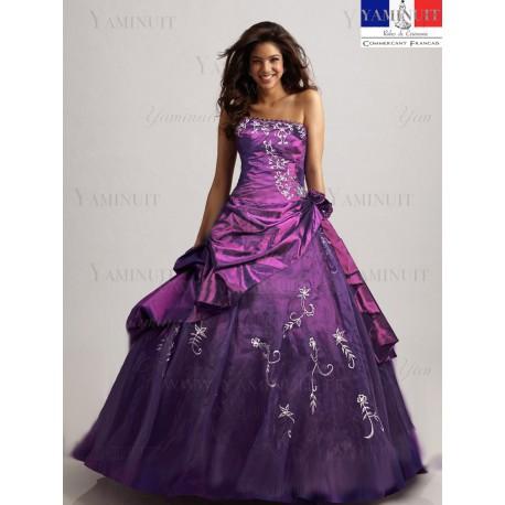 robe de princesse violette