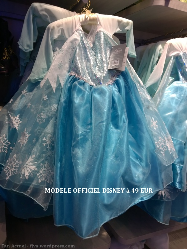 robe disney la reine des neiges