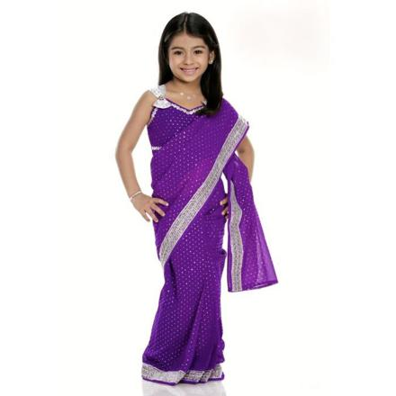 robe indienne fille