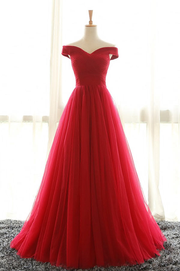 robe princesse rouge