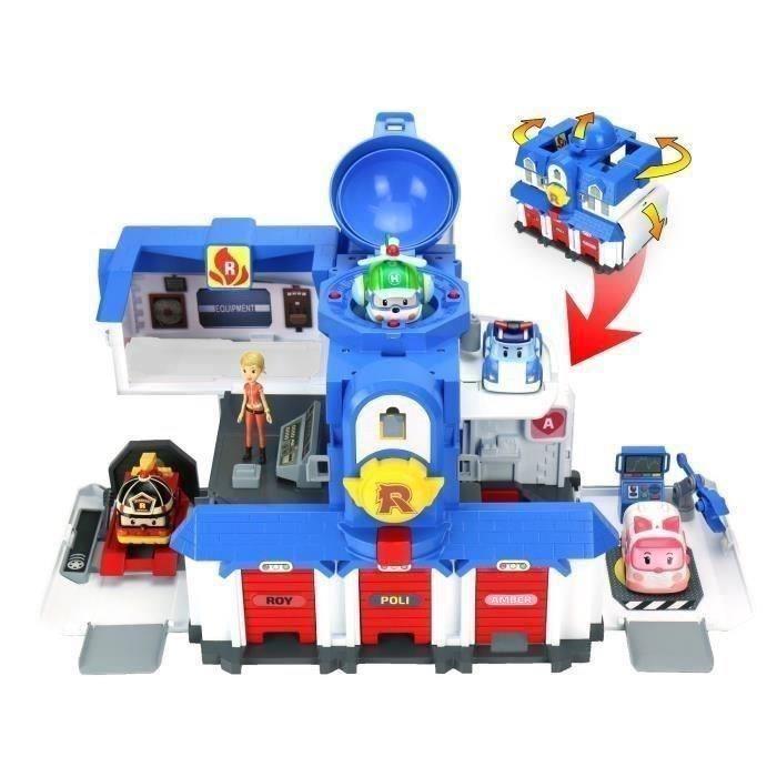 robocar poli quartier général