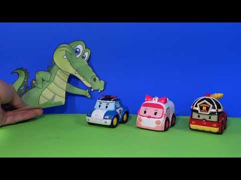 robot car polly en francais
