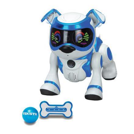 robot chien teksta puppy