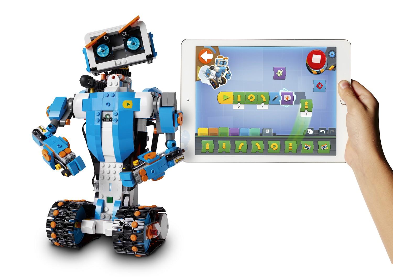 robot en lego