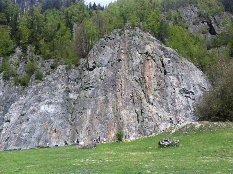rocher d escalade