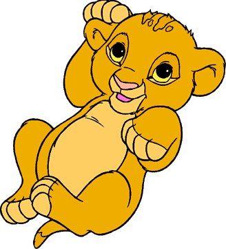 roi lion bebe