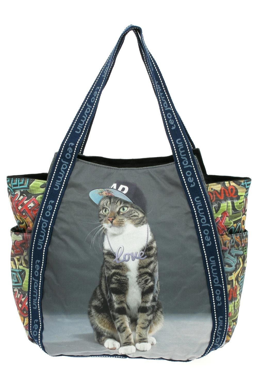 sac avec chat