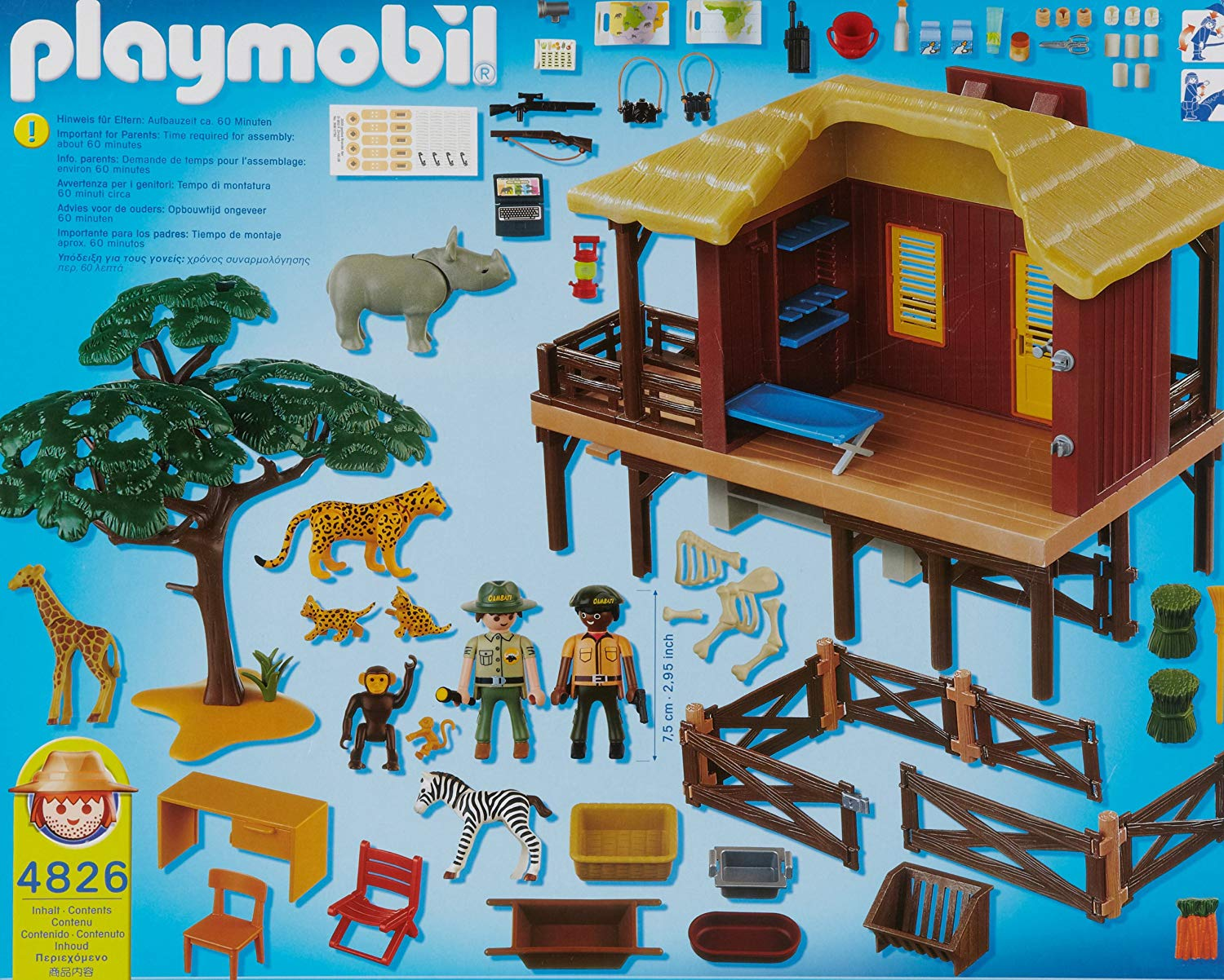 safari playmobil 4826